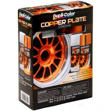 Duplicolor Copper Plate Coating Kit (Copper/Clear)