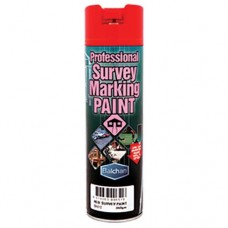 Balchan Survey Marking Paint Brilliant Red 350gm