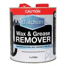 Balchan Wax & Grease Remover 4Lt