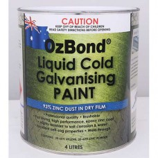 OZ Bond Liquid Cold Galvanising Paint 4L