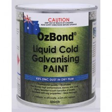 OZ Bond Liquid Cold Galvanising Paint 500ml