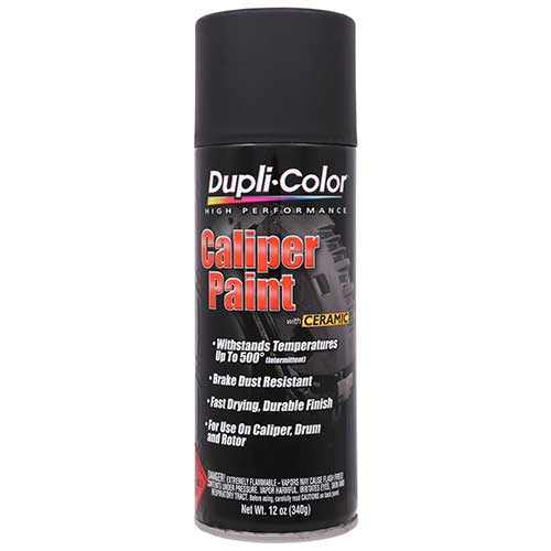 Duplicolor Brake Caliper Paint Matte Black 340gm