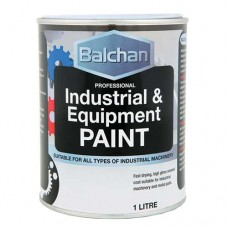 Balchan Industrial Paint Gloss Black 1Lt