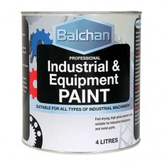 Balchan Industrial Paint Gloss Black 4Lt