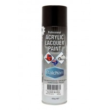 Balchan Acrylic Gloss Black 400gm