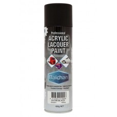 Balchan Acrylic Satin Black 400gm
